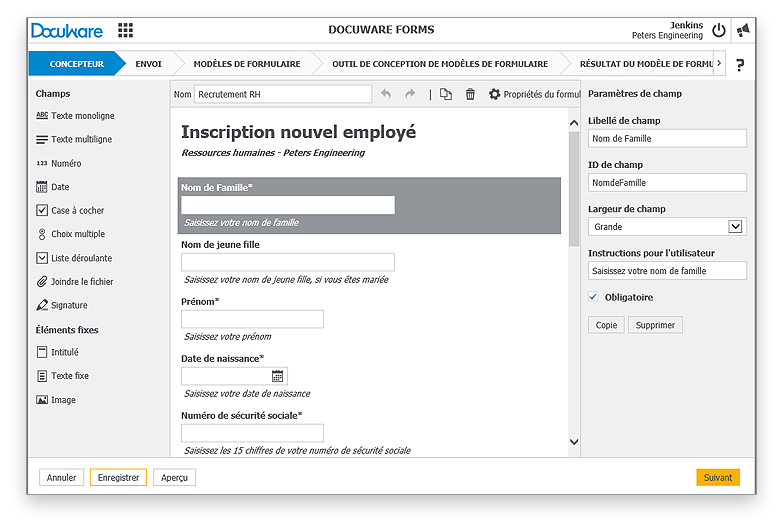 DocuWare Forms