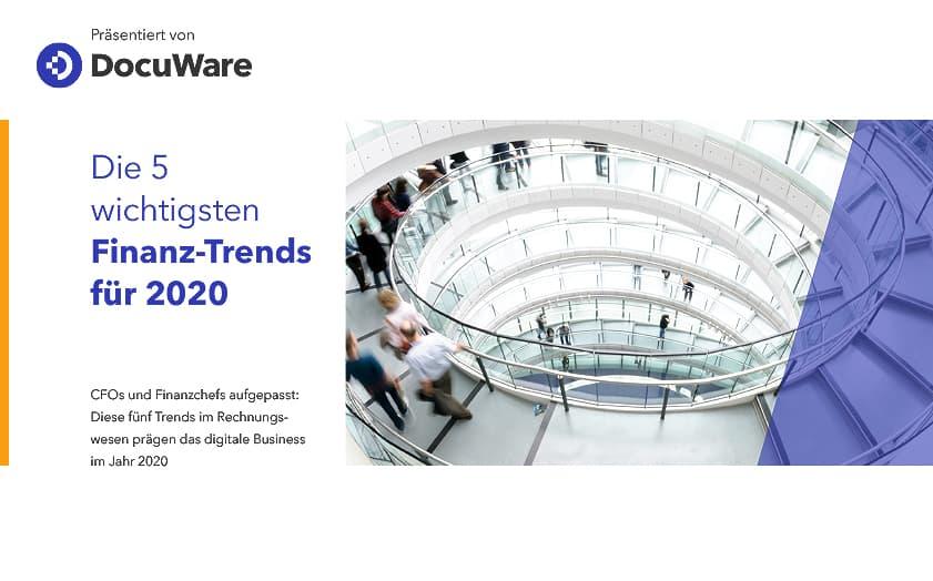 E-Book Cover - Die 5 wichtigsten Finanz-Trends für 2020