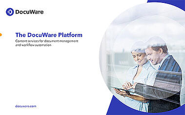 DocuWare Product Brochure Cover