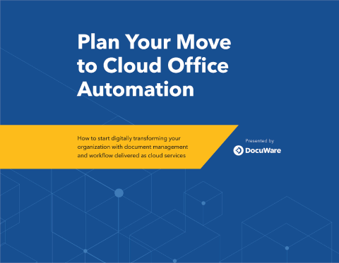 Cover: plan your move to cloud office automation