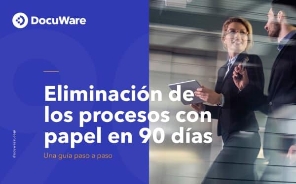 E-Book Cover - Eliminación de los procesos con papel en 90 días