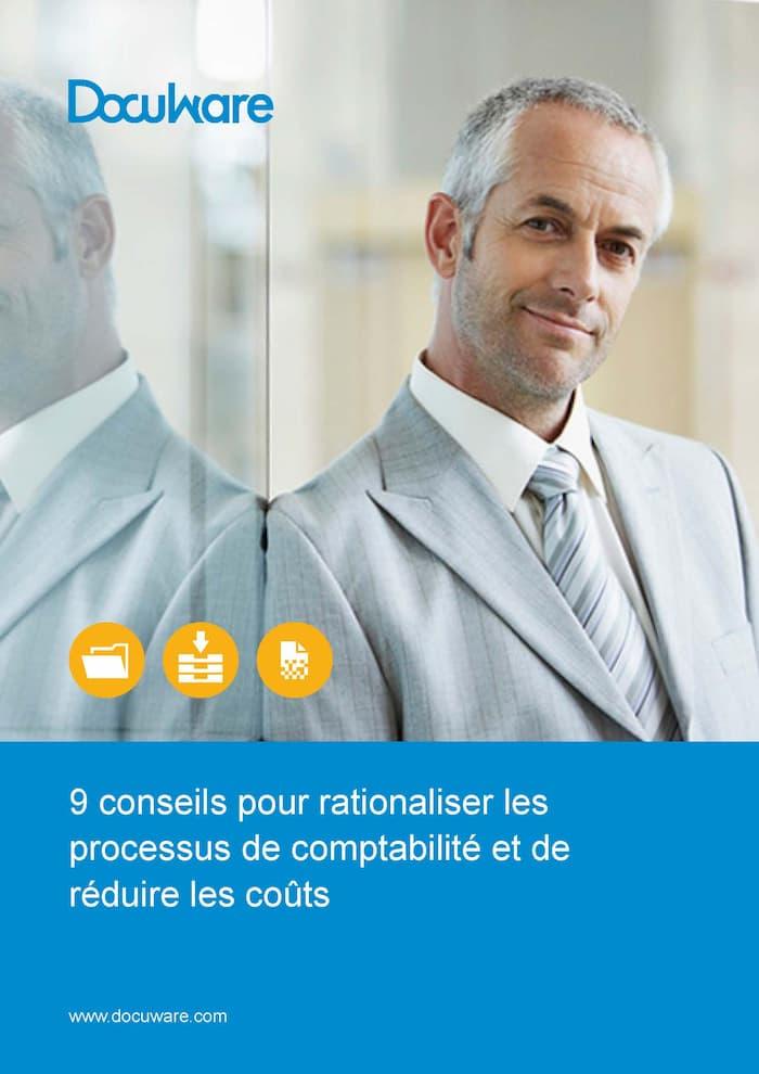 E-Book Cover - 9 conseils pour rationaliser les processus de comptabilité et de réduire les coûts