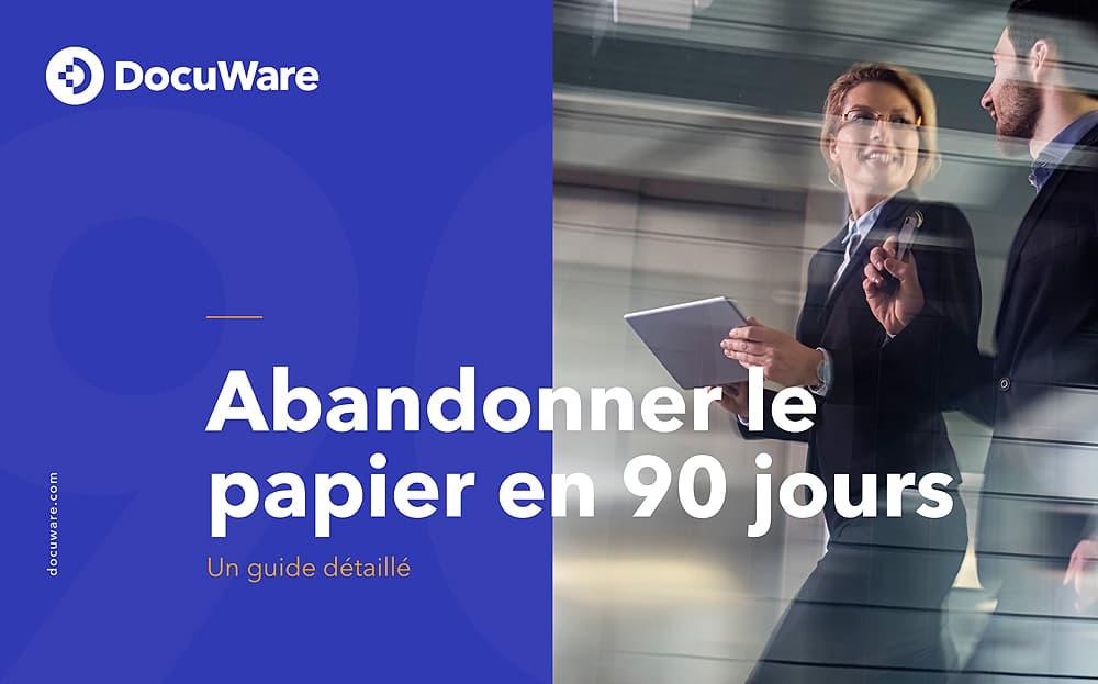 E-Book Cover - FR - Abandonner le papier en 90 jours