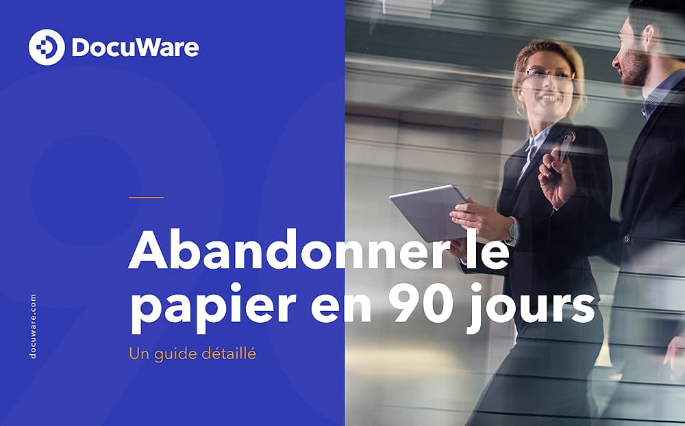 E-Book Cover - FR - Abandonner le papier en 90 jours