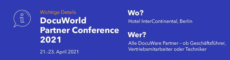 DocuWorld Partner Conference 2021