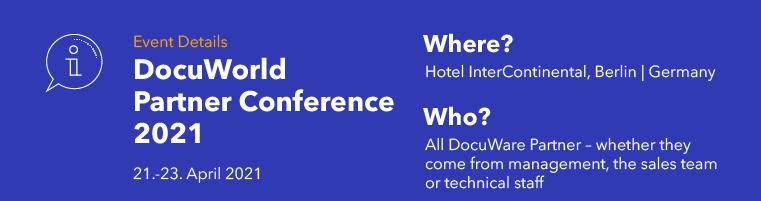 DocuWorld Partner Conference 2021 (EMEA)