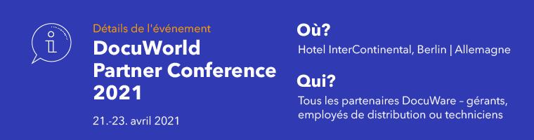 DocuWorld-2021- Partner Conference - FR