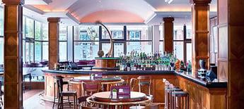 DocuWorld Europe: Bar im InterContinenatl Hotel in Berlin