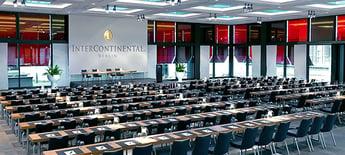 DocuWorld Europe: Konferenzsaal des InterContinental Hotels in Berlin