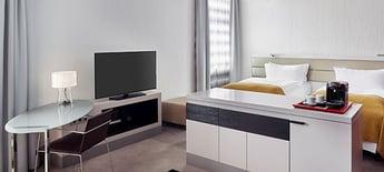 DocuWorld Europe: Zimmer im InterContinental Hotel in Berlin