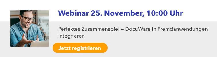 E-Mail Signature - DocuWare Webinar - DocuWare in Fremdanwendungen integrieren9