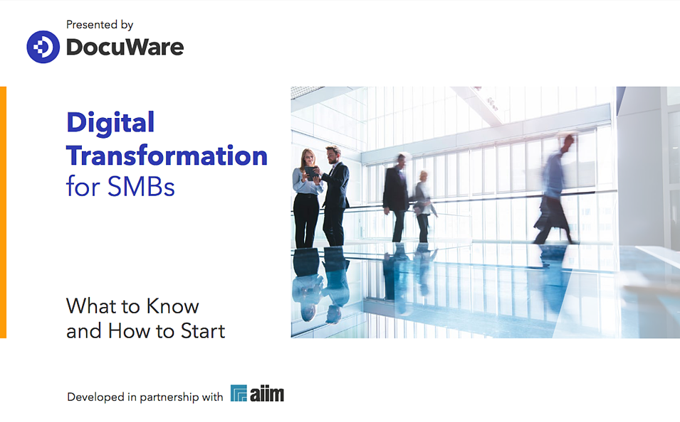 EN | Digital Transformation for SMBs - AIIM