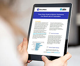 EN   Thumbnail - Tip Sheet - Three Ways Small-to-Medium Businesses Can Benefit with AP Automation - AIIM
