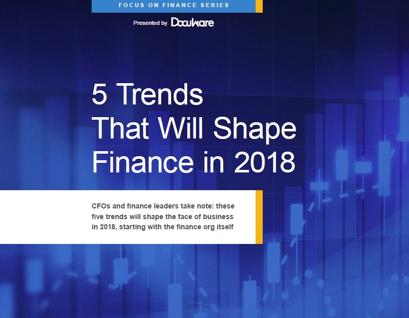 Cover: 5 Finance Trends ebook