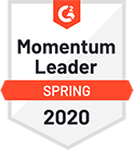 G2 momentum leader badge 2020(1)