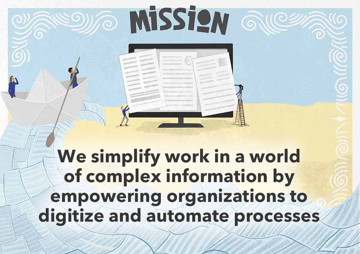 DocuWare Mission: We simplify work in a world of complex information by empowering organizations to digitize and automate processes.