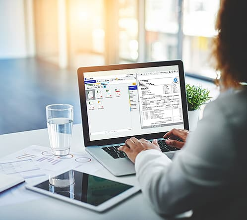 document management software in small financial services business