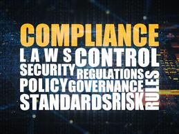Word Cloud with compliance terms