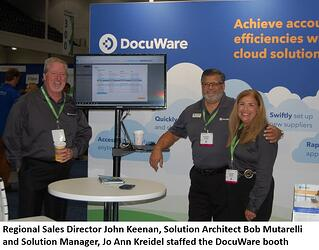 DocuWare's Booth at ACCOUNTEX 2019