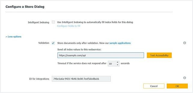 DocuWare Validation for Cloud