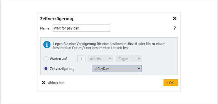 Fixe Wartezeit für Workflow_DE