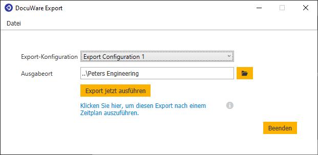 DocuWare Export