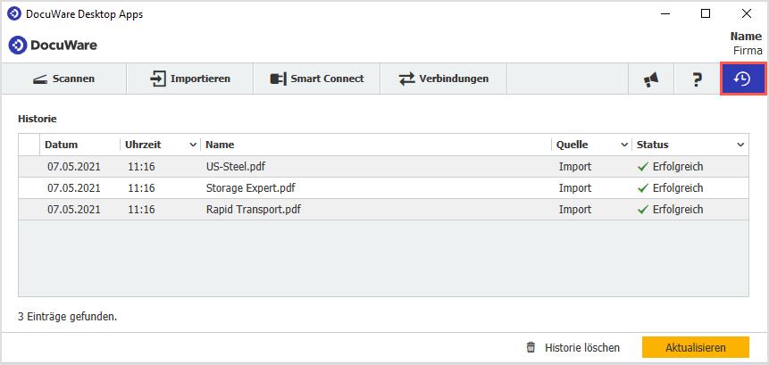 DE_1_Import_Status