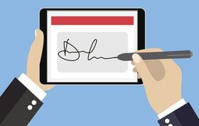Convenient electronic signatures