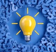 light bulb square image