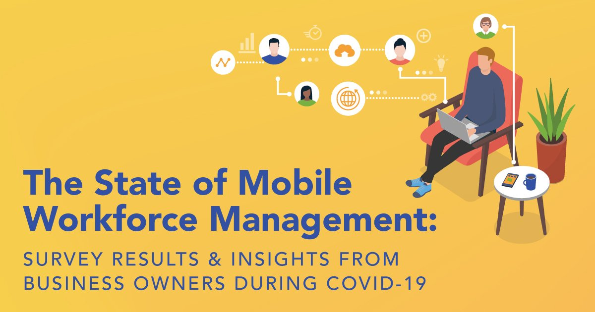Mobile Workforce Survey Infographic