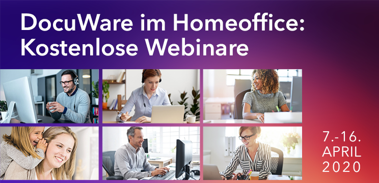 Webinarserie: DocuWare im Homeoffice
