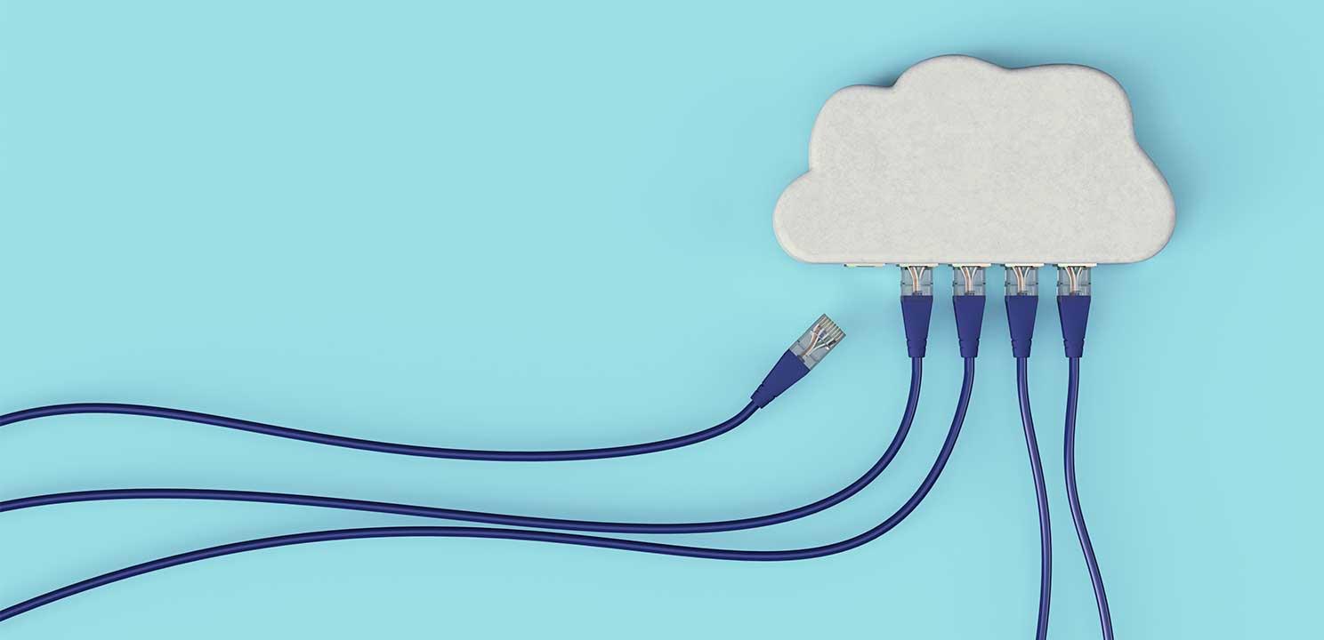 Cloud Daten © serpeblu/adobe Stock