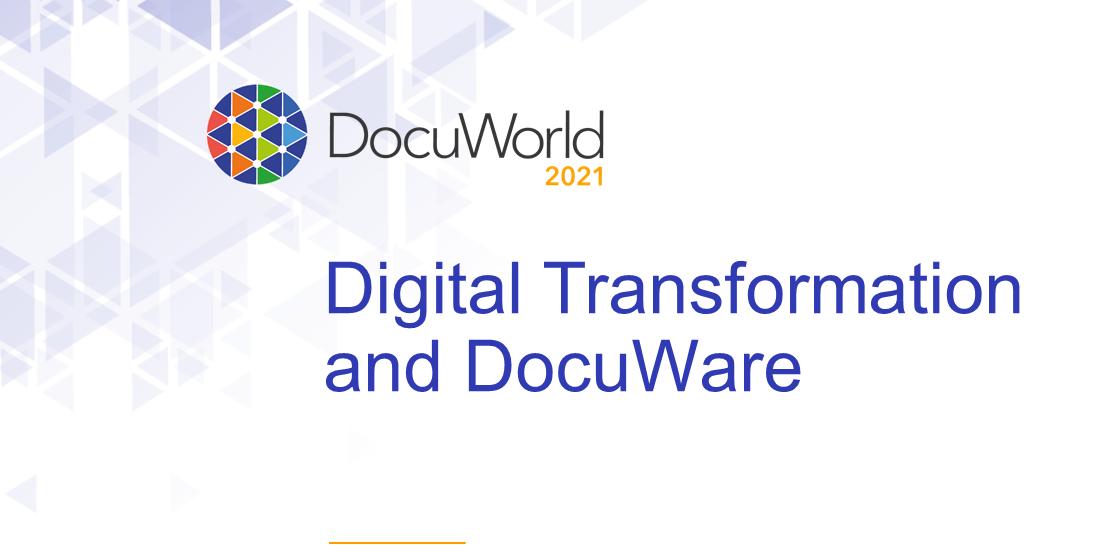 DocuWorld and Digital Transformation